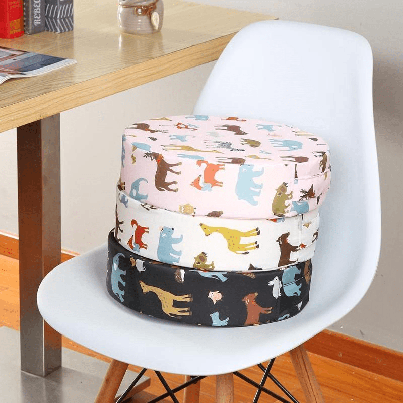 Baby Dining Chair Booster Cushion - Black