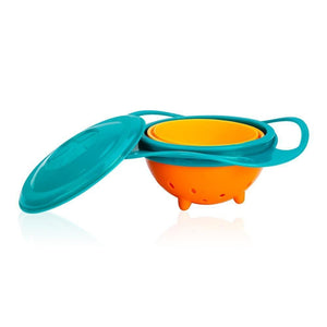 BABY MAGIC BOWL-ROTATING SPILL-PROOF SNACK BOWL