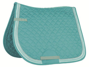 HKM MatchyMatchy (Turquoise) Saddlecloth & Bandage Set