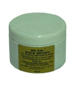 Show Brown - blemish/scar covering