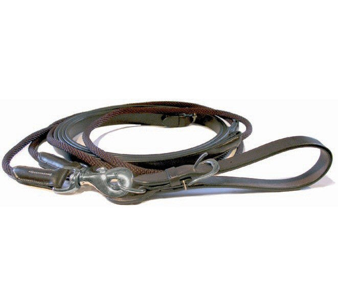 Mark Todd Leather Draw Reins