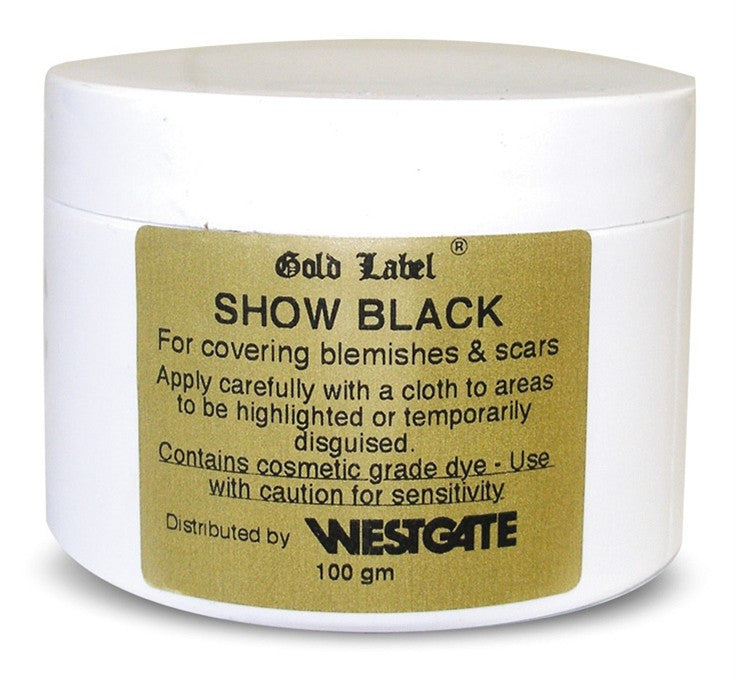 Show Black - blemish/scar covering