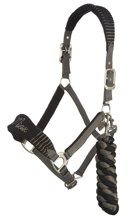 LeMieux Fleece 'Vogue' Comfort Headcollar & Leadrope Set