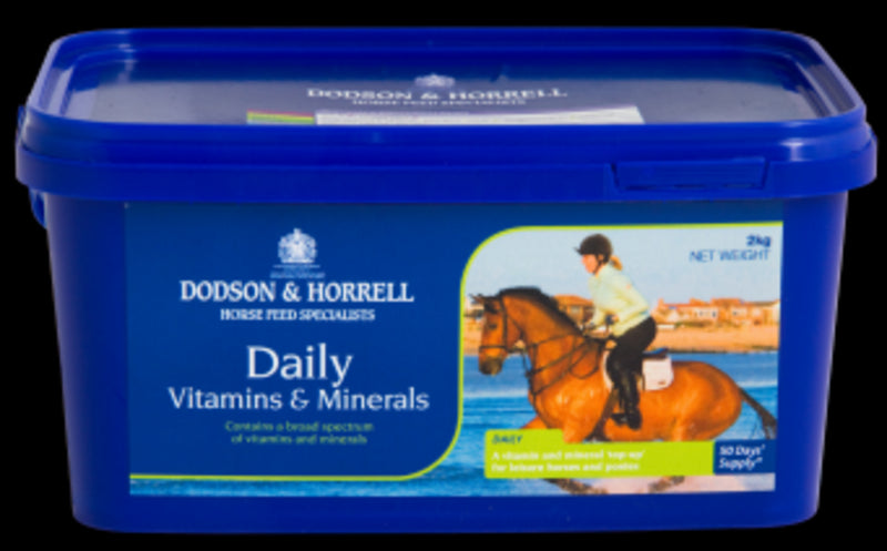 Daily Vitamins and Minerals -D&H