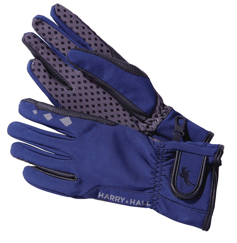 Harry Hall Soft-Shell Riding Gloves
