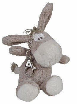 Plush Horse Key Ring