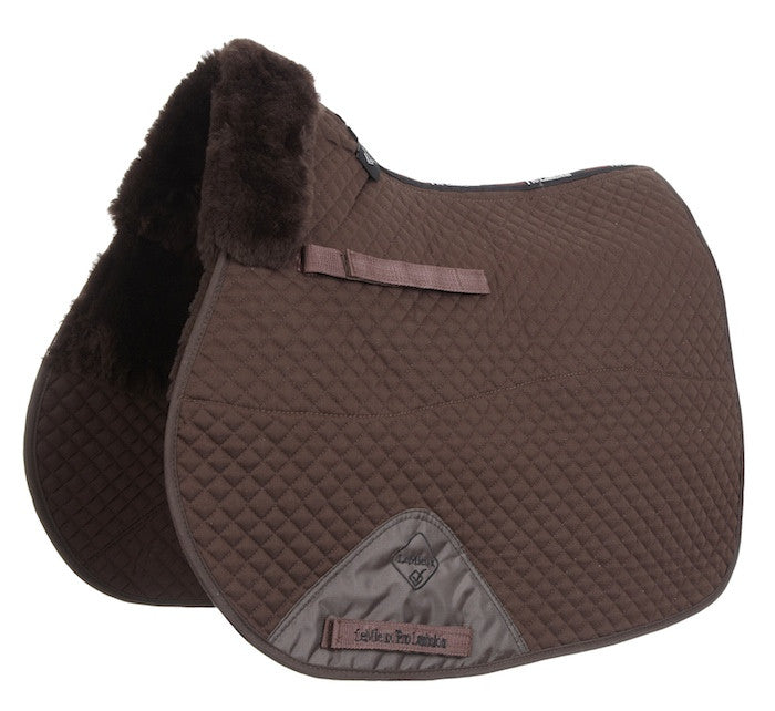 LeMieux Lambskin Half Lined GP/Jumping Square