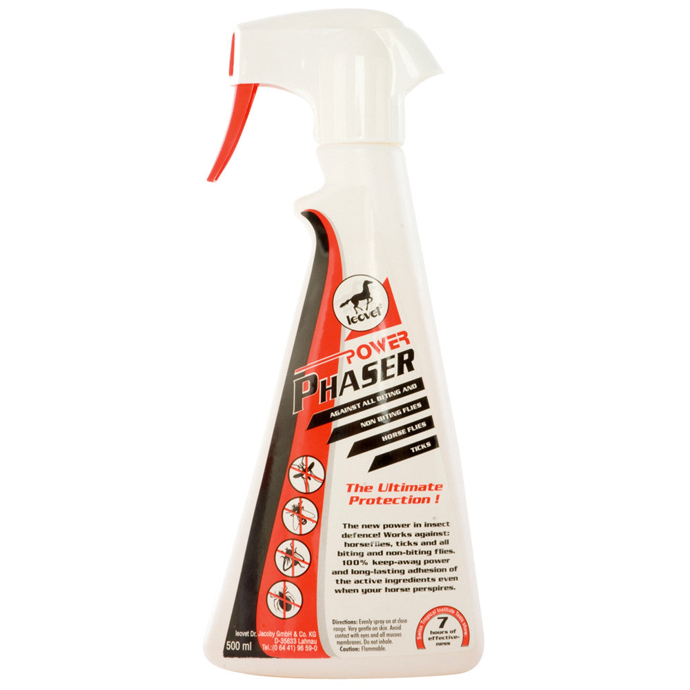 LeoVet Power Phaser Fly Repellent - 500ml