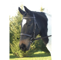 GFS Plain Snaffle (Hunter) Bridle
