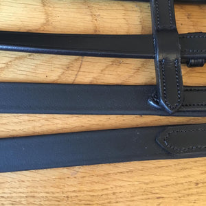 PeeWee Saddlery Easy Grip Biothane Eventing Reins