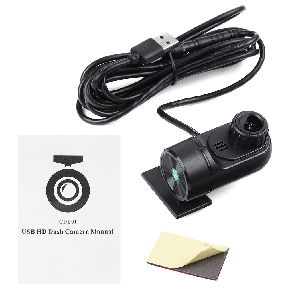 Full HD 1080P Car DVR ADAS Auto Loop Video Recording Driving Recorder Camera USB Dash Cam 140 For Android 4.1