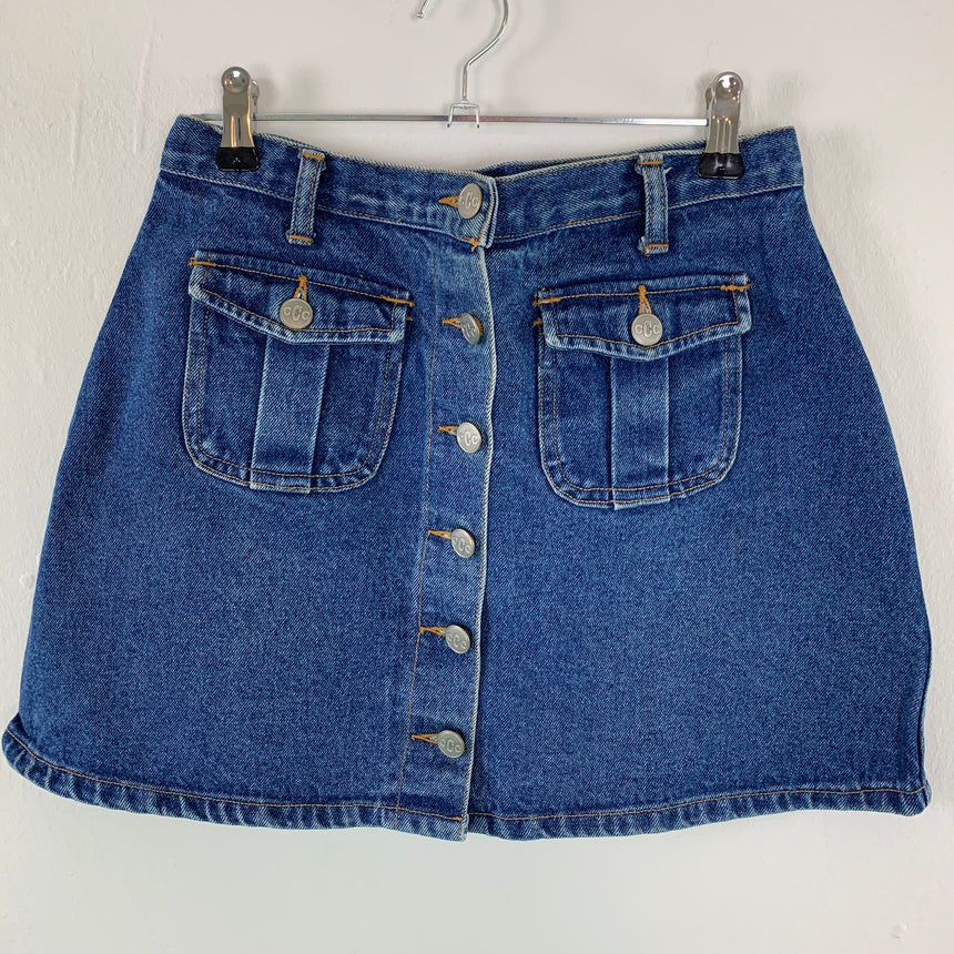 Vintage Jeans skirts  // S W35cm