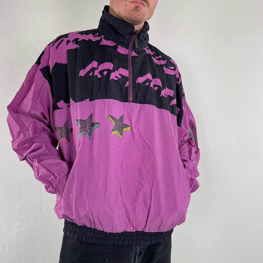 Vintage PUMA thin jacket 80s // L/XL