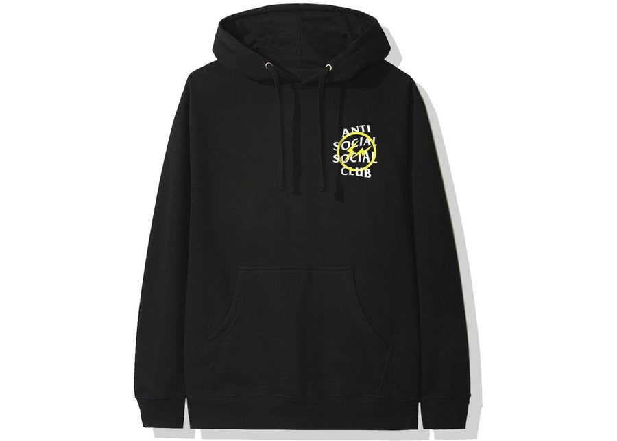 Anti Social Social Club x Fragment Hoodie (Yellow Bolt)