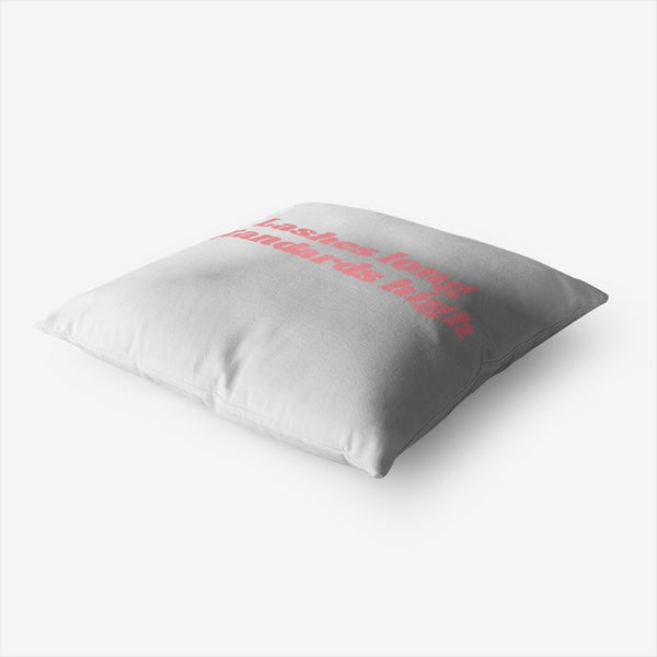 Lash Decor Throw Pillow