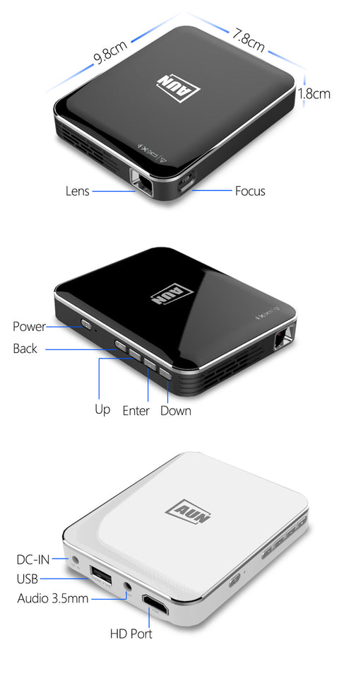 Mini X3 Phone Projector