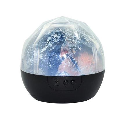 Starry Sky Rotating Night Lamp