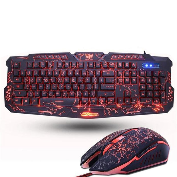 Zuoya 3-Color Backlit Gaming Keyboard
