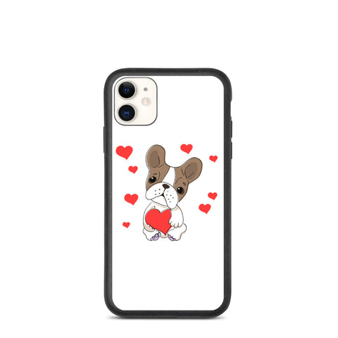 Biodegradable IPhone Case Dog Lover