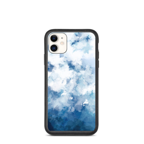 Biodegradable IPhone Case Water Colour