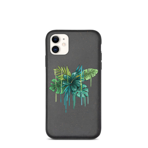 Biodegradable IPhone Case Jungle Pattern