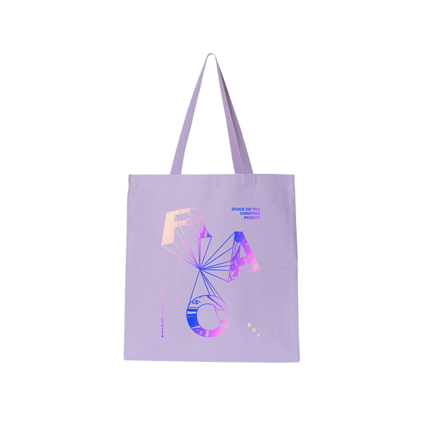 Purple BOY Tote