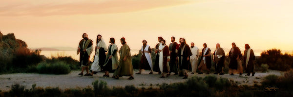 And His Disciples Follow Him
