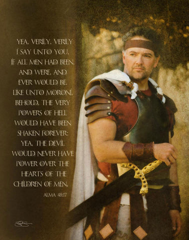 If All Men - Captain Moroni