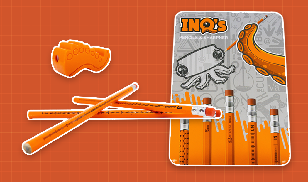 Inq's Pencils - Fall 2020 Curiosity Box