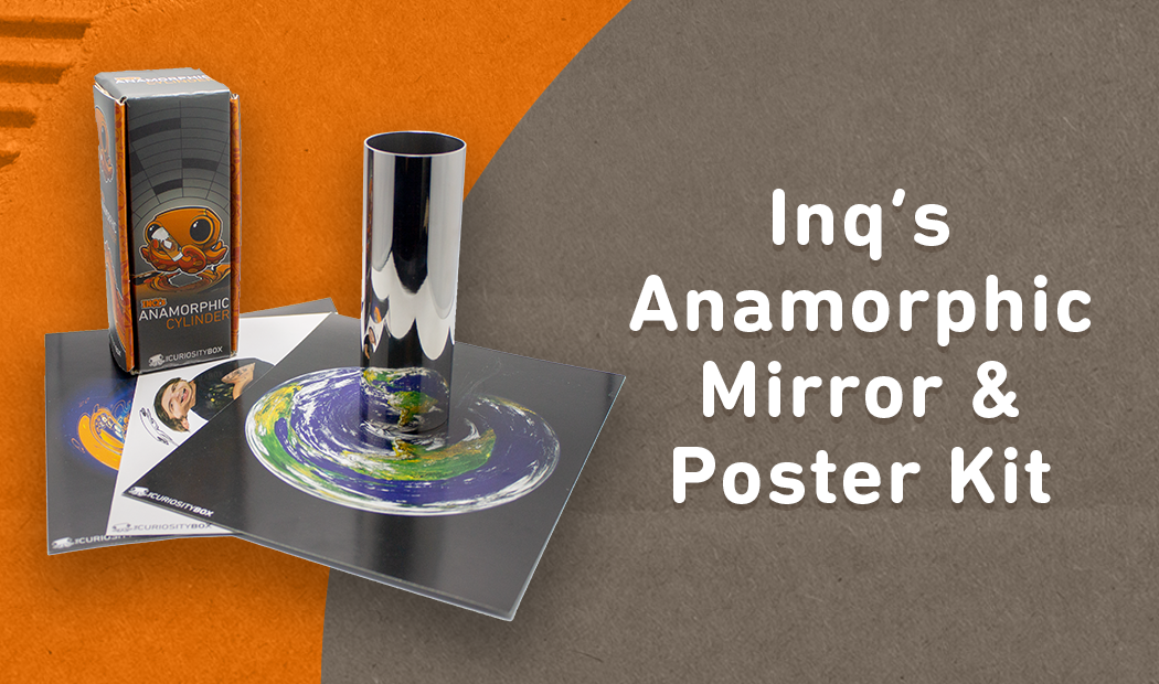 Anamorphic Mirror and Poster Kit Summer Curiosity Box