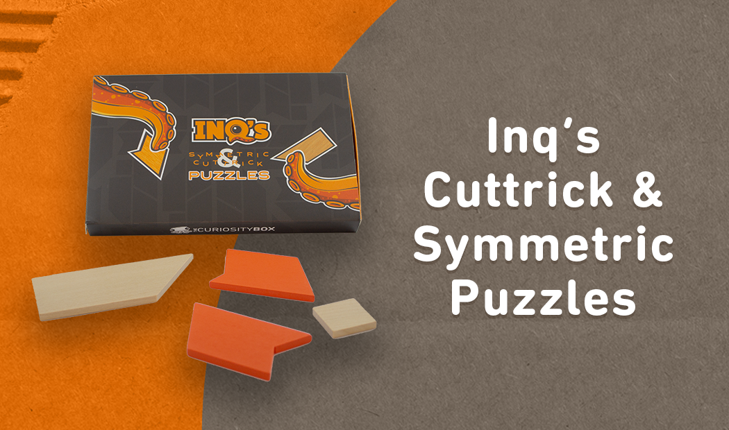 Inq's Cuttrick and Symmetric Puzzles Summer Curiosity Box