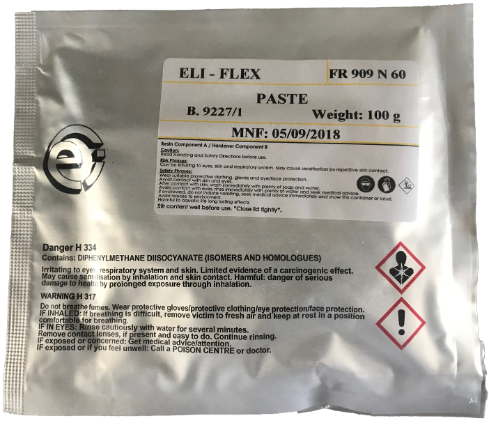 ELI-FLEX Conveyor Belt and Rubber Repair Resin 100g -
