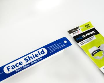 NoSweat Face Shield Liners (250 count)