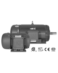 1 HP Three Phase Severe Duty Electric Motor