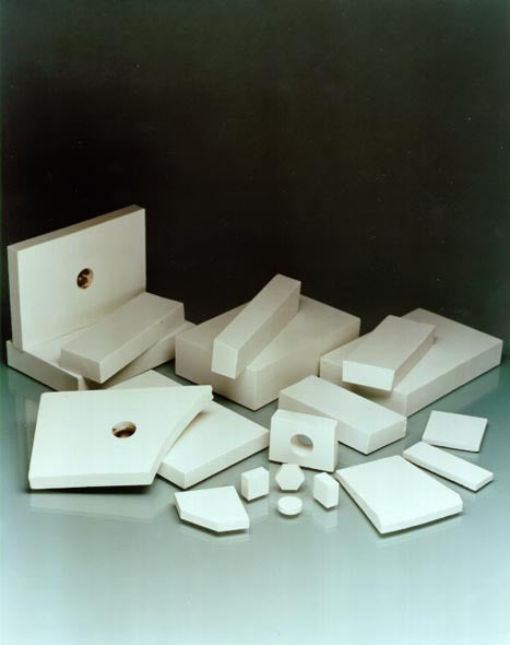 AEC 7 Inch x 7Inch x 1/4- 3/8 and 1/2 Inch Ceramic Alumina Tiles For sliding Abrasion