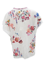 Johnny was Gardenia Women's Blouse - B19020B4
