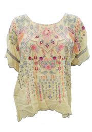 Johnny Was Vanna Blouse - C16420-4