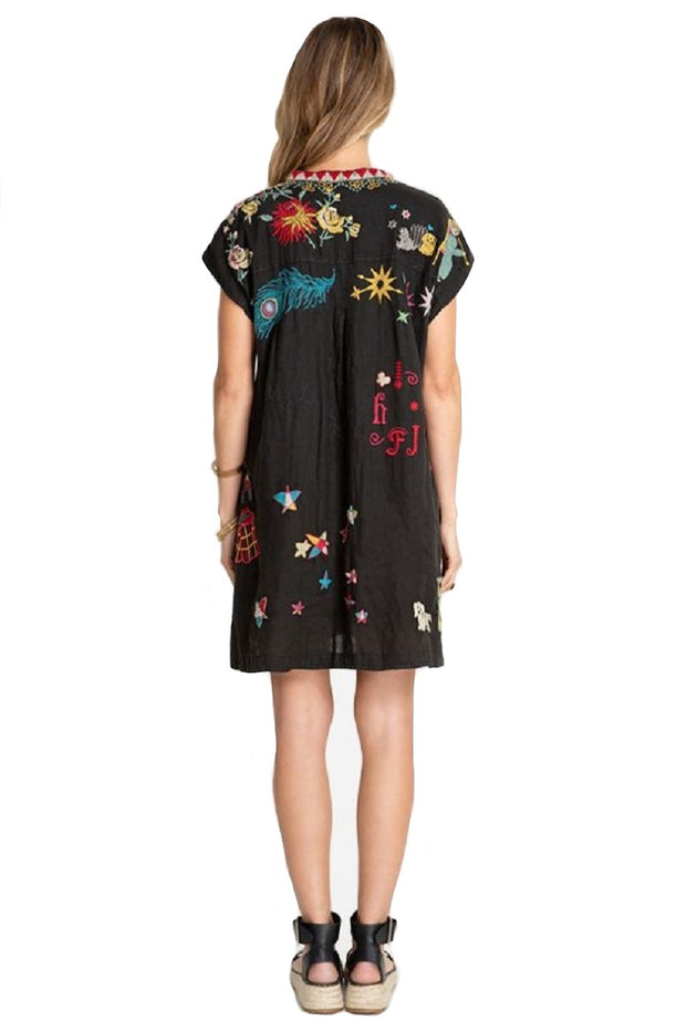 Johnny Was Mishti Linen Dress - B31020-4