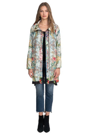 Johnny Was Loral Reversible Raincoat - C44520A8