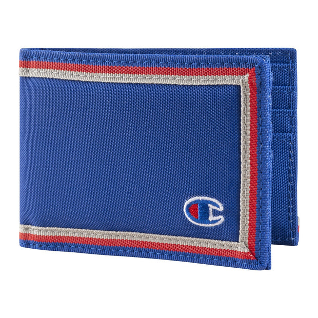 Champion Transmitter Bifold Wallet Blue One Size - CH3038