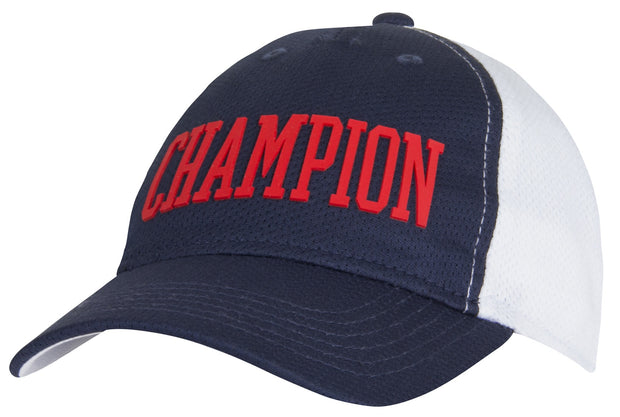 Champion Mesh Block Youth Hat Navy - CHY2004