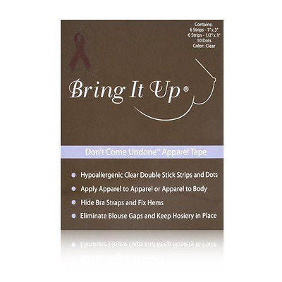 Bring It Up Don't Come Undone Apparel Tape
