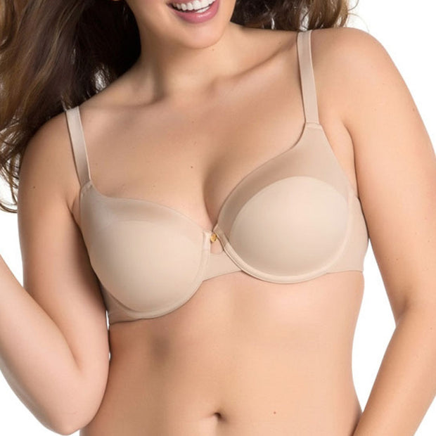Curvy Couture Everyday Matte and Shine T-shirt Bra - 1001