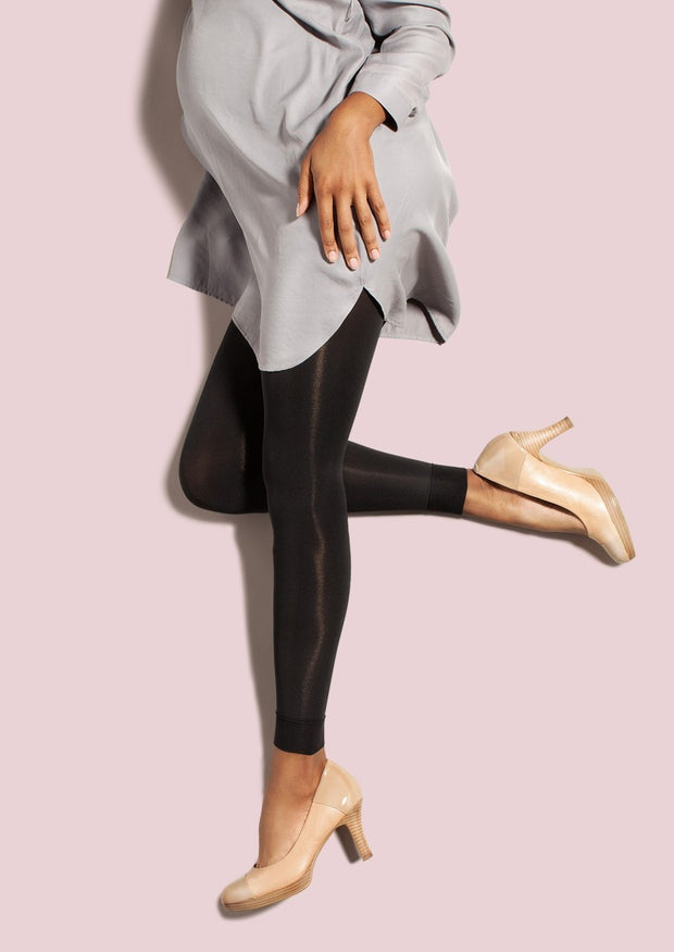 Preggers Maternity Footless Hosiery Tights 10-15 mmhg