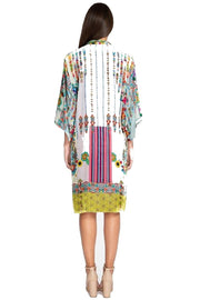 Johnny Was Angie Kimono Tunic Dress - C38518