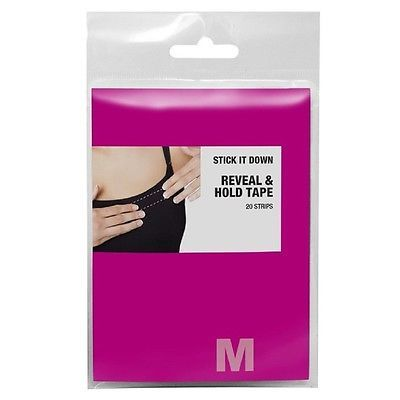 Maidenform Women's Fashion Tape Strips Clear One Size - M5089