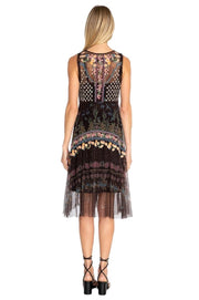 Johnny Was Vatusia Mesh Dress - B32719-D
