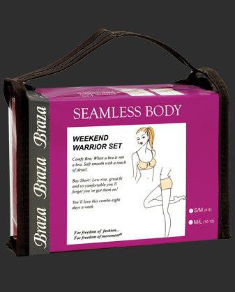 Braza Seamless Body  Weekend Warrior Set - S-6208
