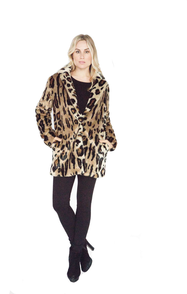 Love Token Emery Faux Fur Coat - LT37-05