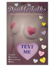 Bring It Up DoubleTalks Heart Shaped Scented Nipple Covers